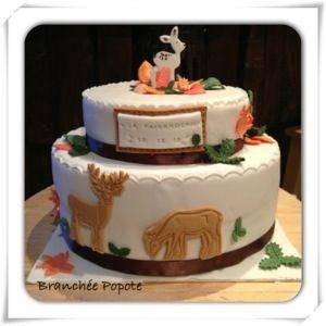 Cette semaine, il m'a été demandé de réaliser un gâteau pour 30 personnes sur le thème de la nature pour un repas de chasse. J'ai donc fait un Victoria Sponge Cake à la vanille (recette ici,sans le...