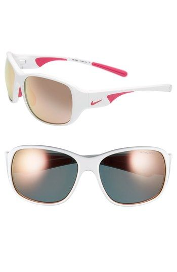 Nike 'Exhale' 59mm Sunglasses available at #Nordstrom. New running sunglasses. DROOL.