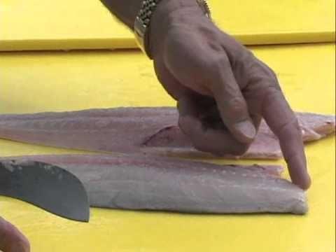 how to clean fish roe mackerel