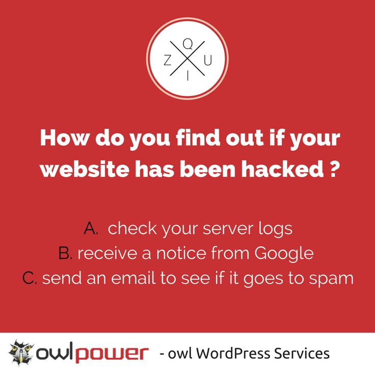 If you don`t use preventive #WordPress maintenance you should know how to check for hacks. Find out the answer >>> http://ow.ly/Bc3K304S3KX