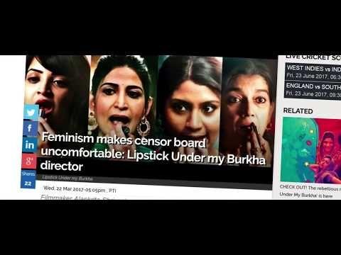 Watch this video on my channel 👀  Lipstick Under My Burkha Official Trailer   Prakash Jha   Konkona Sen   Aah...