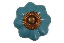 La Finesse / Porcelánová úchytka Sarah blue