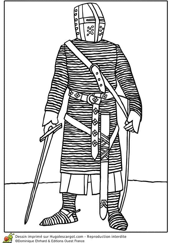 Les 57 meilleures images du tableau coloriages de ch teaux et chevaliers sur pinterest - Coloriage chateau chevalier ...