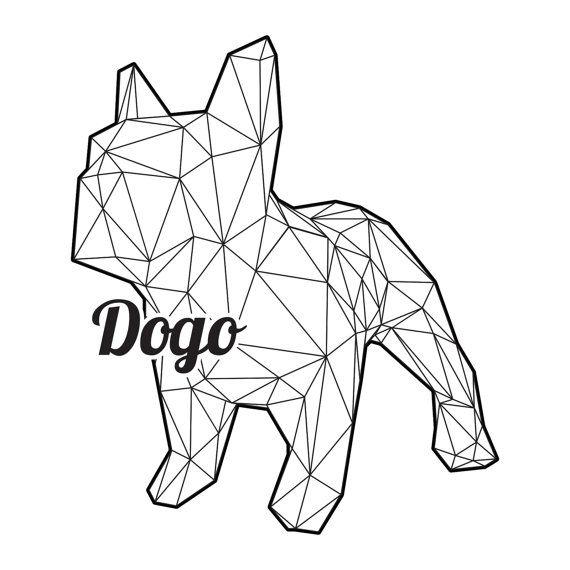 Dogo bricolaje plegable kit para un poli baja por Imprimables                                                                                                                                                                                 Más