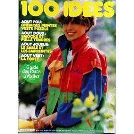 ma mere m'avait cousu cette veste multico du magazine 100 idees!