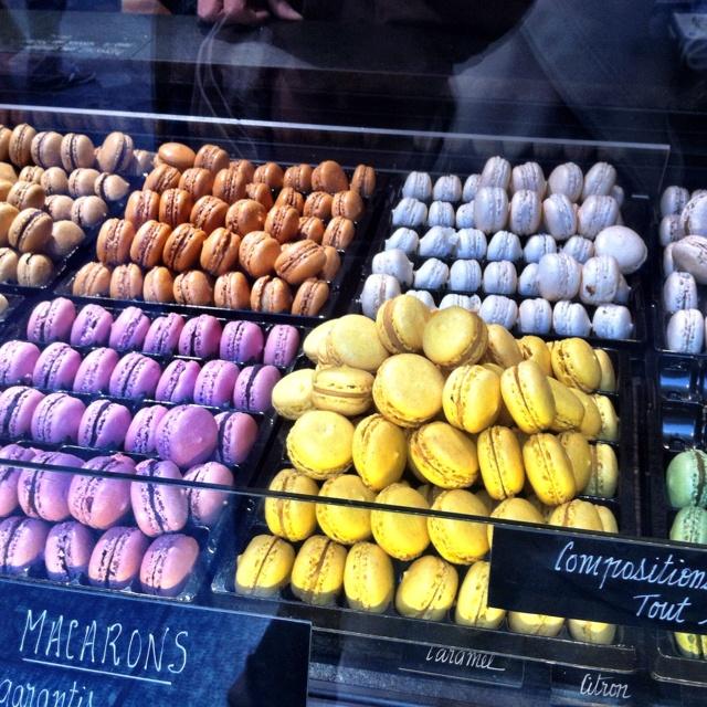 Delightful macaroons in Paris