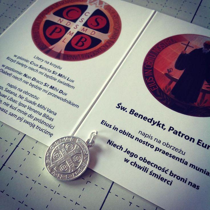 kolejnym prezentem jaki otrzymacie na naszym stoisku C16 jest MEDALIK św. Benedykta, który będziemy rozdawać razem z opisem symboliki :)