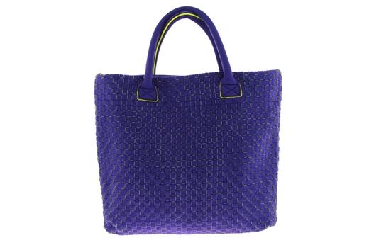 Borsa Leghilà in neoprene con intreccio sul davanti, lavabile in lavatrice con l'apposito sacchetto. #leghila #bags
