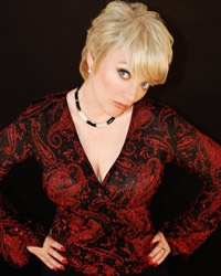 For the record actress Alison Arngrim (AKA Nellie Oleson from HIT TV show, Little House on the Prairie is such a funny and lovely girl. Sue just never knew what she was going to say next.