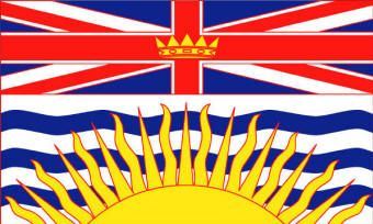 British Columbia Flag...best Province to live in