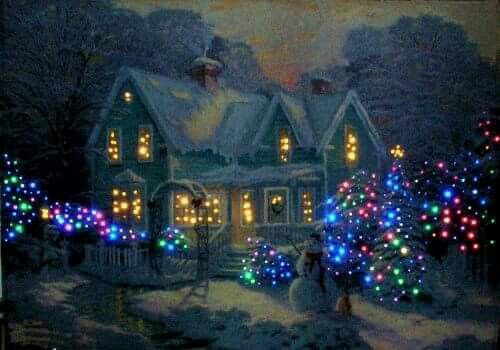 216 Best Images About A Snowy Christmas Night On Pinterest