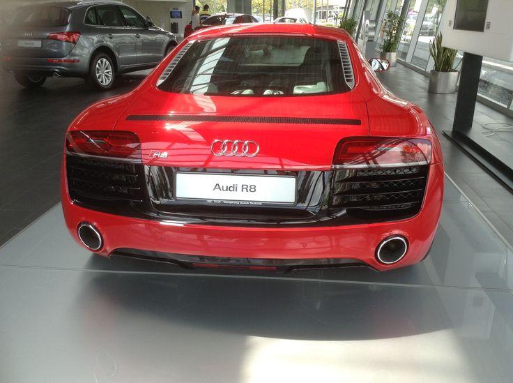 Audi R8 in Red ( Back )