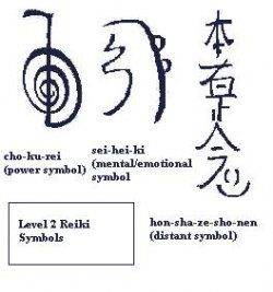 How to draw Reiki symbols