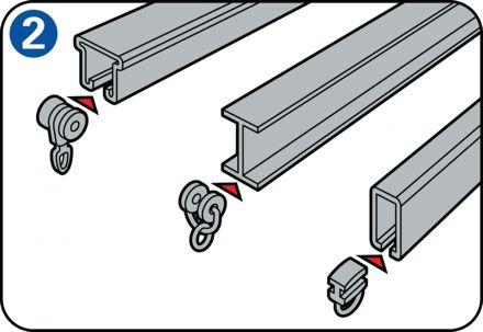 Astuce: comment poser un rail à rideaux, les points d'attention. Différents systèmes d'accrochage de rideaux.