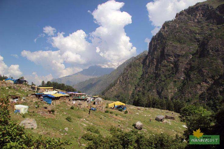Kheerganga campsite Parvati Valley Trek