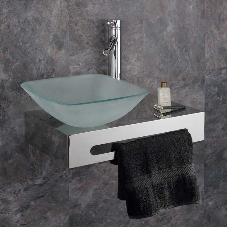This High Quality Stunning NEW DESIGN Frosted Glass Square Wash Basin and stand set is ideal for ensuites or master bathrooms. Stainless Steel Shelf size - High Quality Designer Chrome Tall Mixer Tap with quarter turn handle. | eBay!