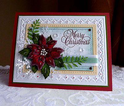 "Stampin up! Handmade ""Merry Christmas"" card"