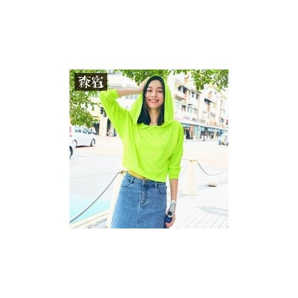 Mesh Plain Hoodie (€43) ❤ liked on Polyvore featuring tops, hoodies, women, mesh sleeve top, green top, sweatshirt hoodies, green mesh top and hooded sweatshirt