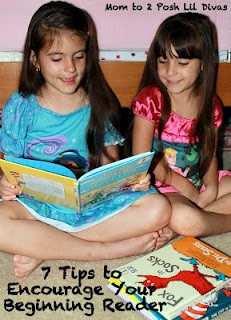 7 Tips to Encourage Your Beginning Reader!