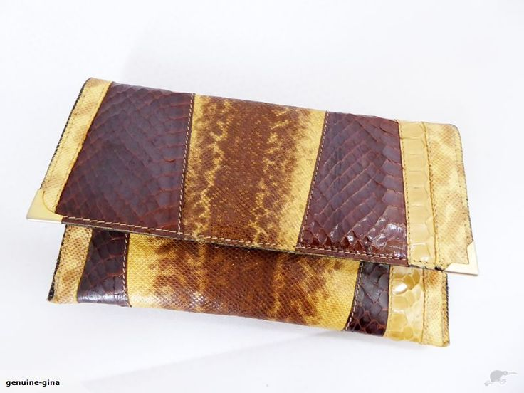 1960's exotic leather purse