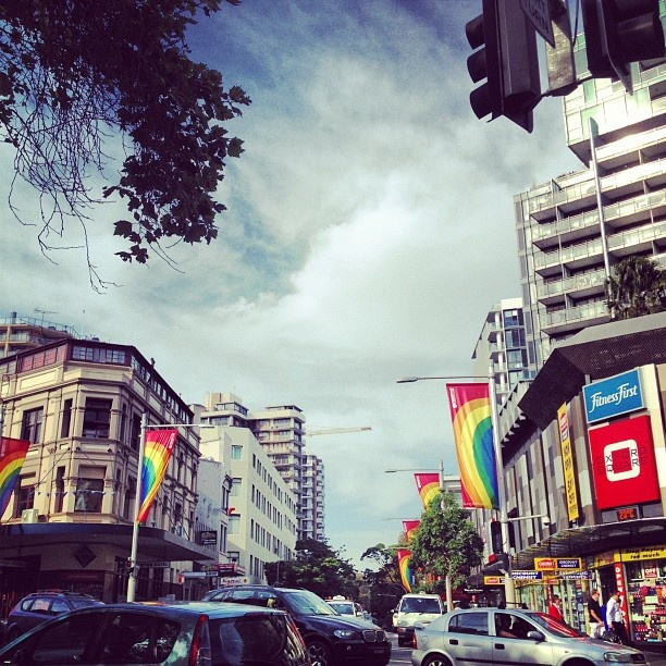 Colourful Sydney. Nice instagram pic by @Jeroxie