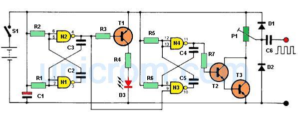 Inyector de señal audio y radiofrecuencia (RF)
