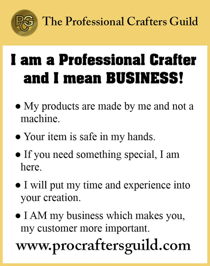 Is this you?  www.procraftersguild.com