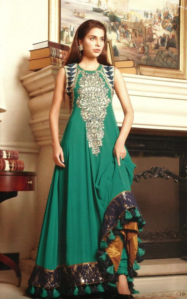 Gul Ahmed 2014 Silk Collection For Girls