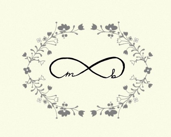 Infinity Wedding Art True Love Symbol By Studio Mela Inspire Me Pin It Up Fast In 2018 Pinterest Tattoos And Ring