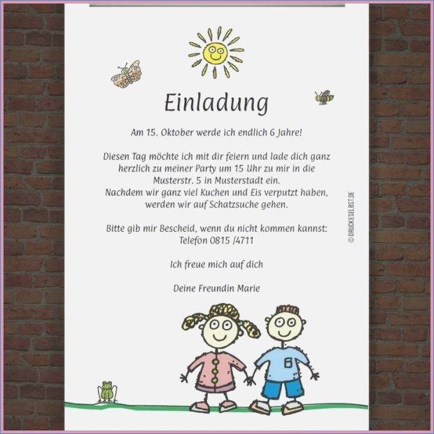 Spruche Kindergeburtstag Witzig Beste Einladung Geburtstagstext
