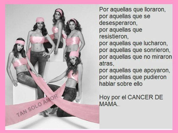 19 de octubre Dia Mundial del Cancer de Mama