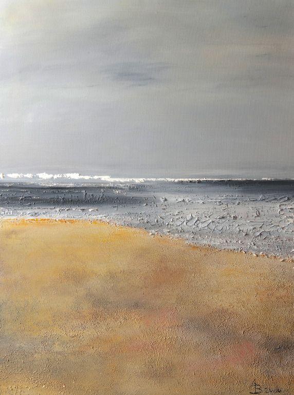"Saatchi Online Artist: Andrea Becker-Aschauer; Paint, 2010, Mixed Media ""impressions 1.2"""