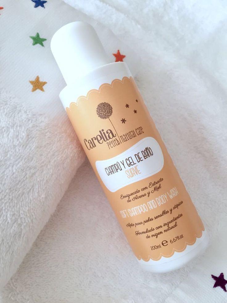 Champú-Gel de Baño bebé. Shampoo-Gel bath baby. Natural & Organic cosmetics. www.carelia.es