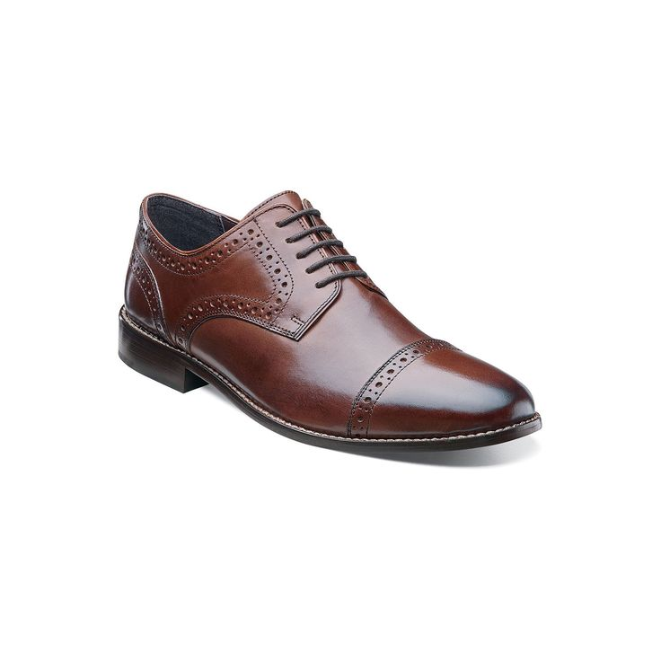 Nunn Bush Norcross Men's Brogue Dress Shoes, Size: medium (7.5), Brown