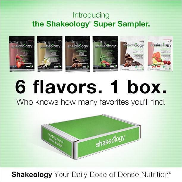 Don't know what Shakeology flavor to order? Then try out the Shakeology Super Sampler. You'll get every Shakeology flavor! #ShakeologyResults