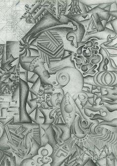 De 25+ bedste idéer om Abstract Pencil Drawings på Pinterest ...
