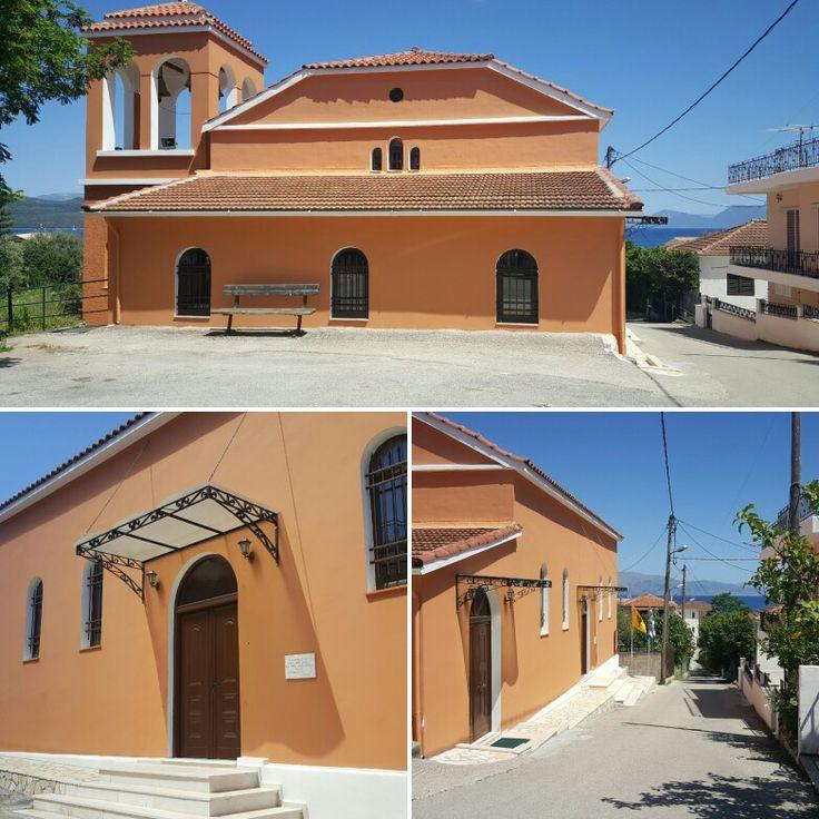 Church of Transfiguration, Nikiana Lefkada Greece. Μεταμόρφωση Του Σωτήρος (Νεότερη) στην Νικιάνα. Εκκλησία Νικιανα Λευκαδα
