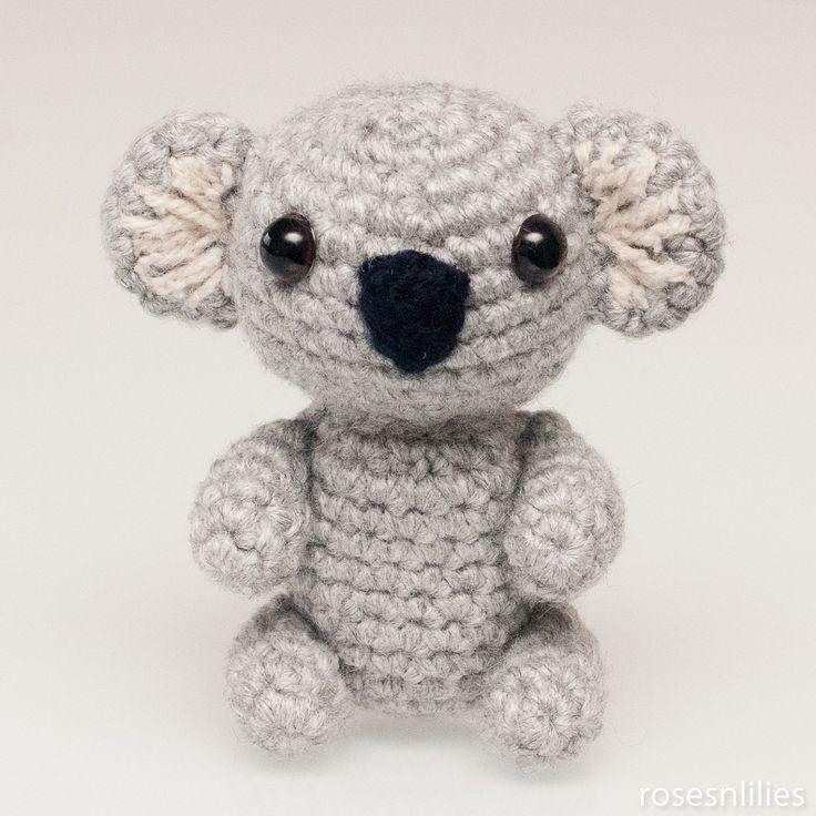 Amigurumi Koala Bear (in 3 sizes) Crochet Pattern PDF ...