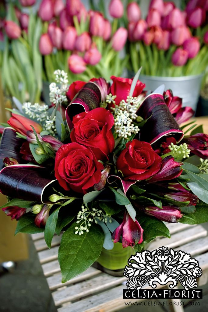 All sizes | Vancouver Celsia Florist: Valentine's Arrangements - Vancouver Florist | Flickr - Photo Sharing!