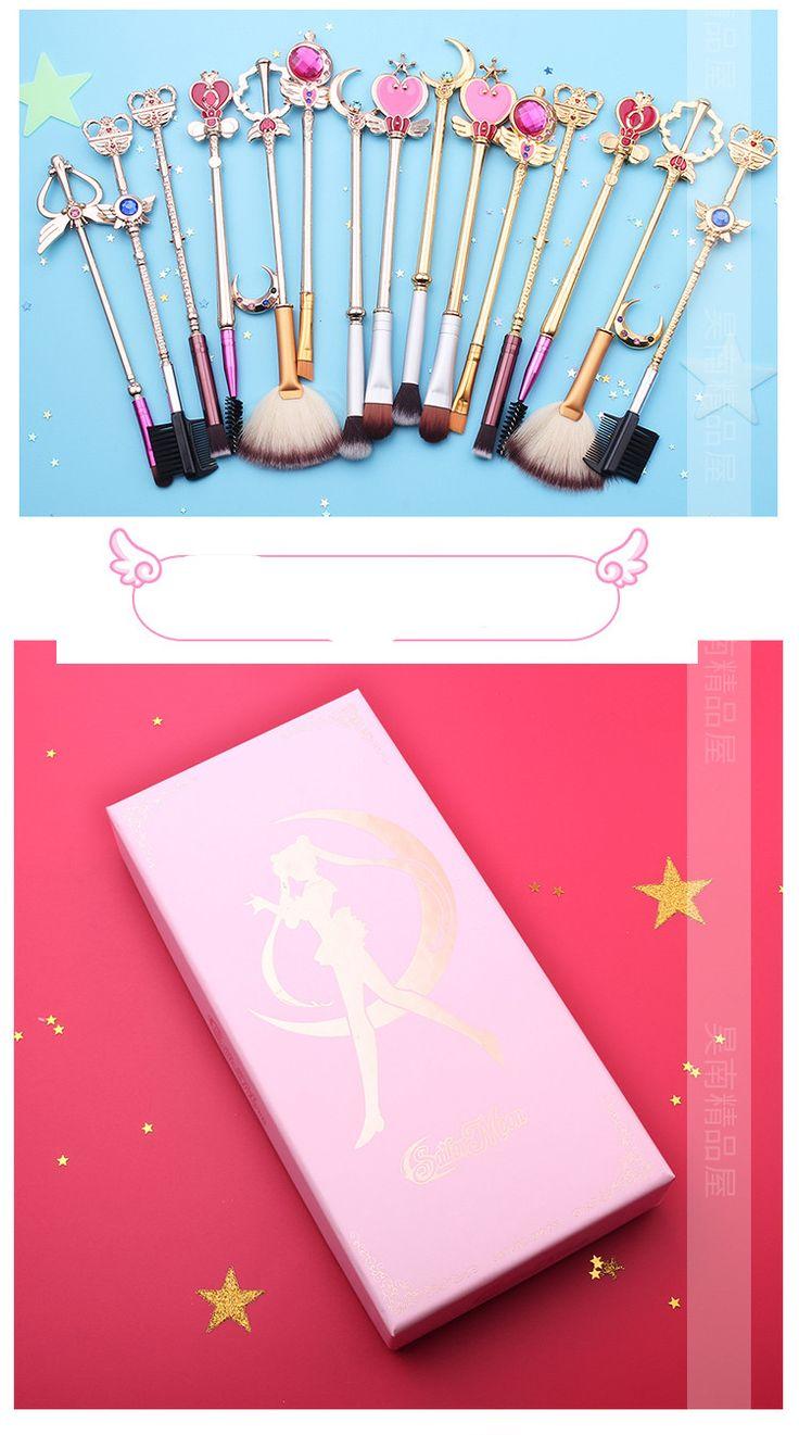 化粧ブラシセット化粧ブラシ化粧ブラシセット女性への贈り物萌え『美少女戦士セーラームーン』