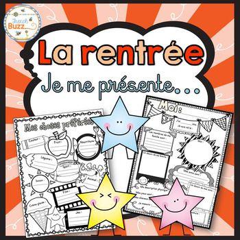 La rentrée - Je me présente - Me voici - All about me - Back to school