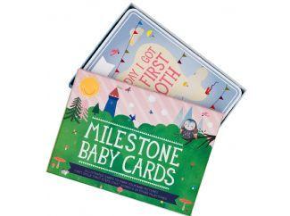milestone baby cards | leg de mijlpalen vast van je baby