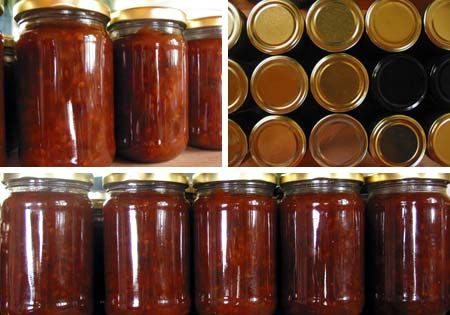 Yet another delicious chutney of rich red goodness