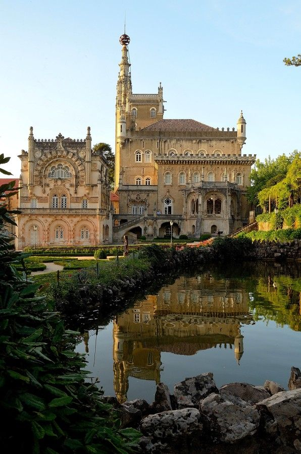 Palace of Bussaco...luxury hotel in Portugal