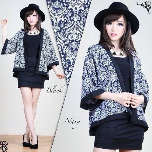 Phyliss Batik Blazer IDR 125