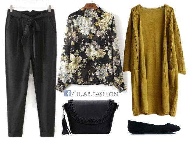 Plain & Prints Outfit Idea - Prices & Stores