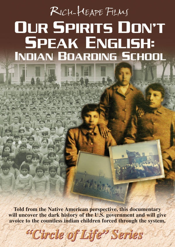 """""""Our Spirits Don't Speak English: Indian Boarding School"""" is a Native American perspective on Indian Boarding Schools. This film uncovers the dark history of U.S. Government policy which took Indian children from their homes, forced them into boarding schools and enacted a policy of educating them in the ways of Western Society. The film gives a voice to the countless Indian children forced through a system designed to strip them of their Native American culture, heritage and traditions."""