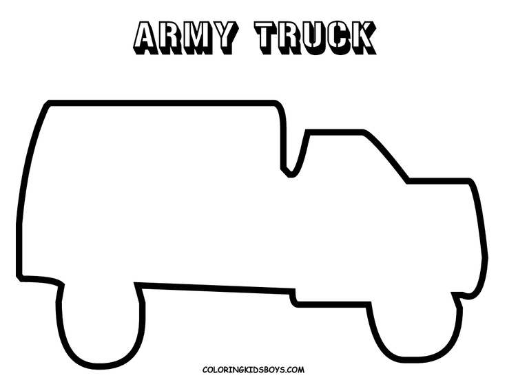 army truck coloring pages print designs wiki all about