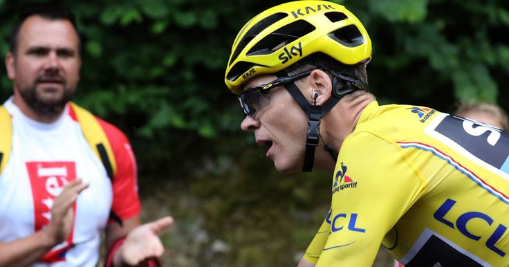 Chris Froome crashes but maintains Tour de France lead despite crash as Romain Bardet wins stage 19