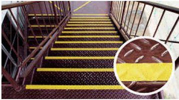 楽天市場】【階段バリアフリー】屋外用滑り止めテープ スベラーズ:web ... ... 屋外用滑り止めテープスベラーズ屋外用鉄階段設置イメージ